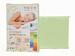 Простыня трикотажная на резинке Cleo Lime 200х200 см