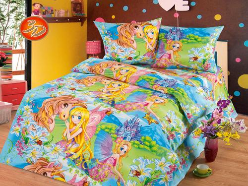 Подушка детская Cleo Экофайбер 50/020-PD