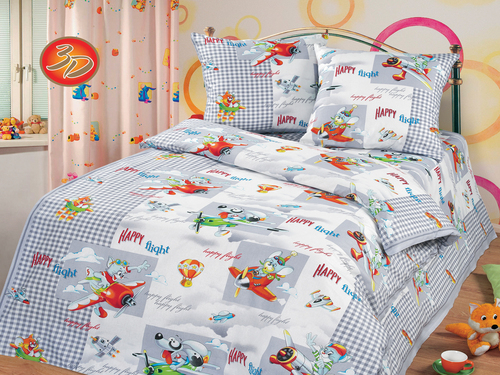 Подушка детская Cleo Экофайбер 50/022-PD