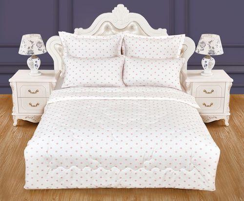 Детское постельное белье Преладо (бело-розовый)