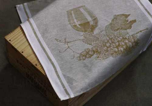 Полотенце для кухни в винной тематике Мускат 50х70 см