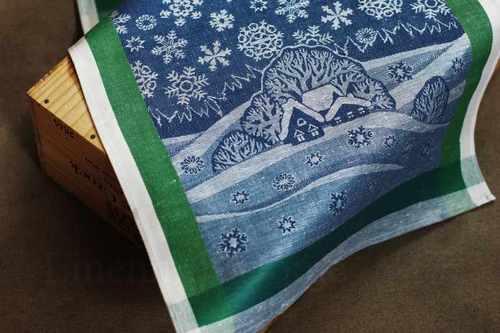 Кухонное полотенце Зимняя Ночь 50х70 см