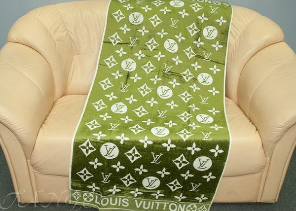 Пляжное полотенце Louis Vuitton Green