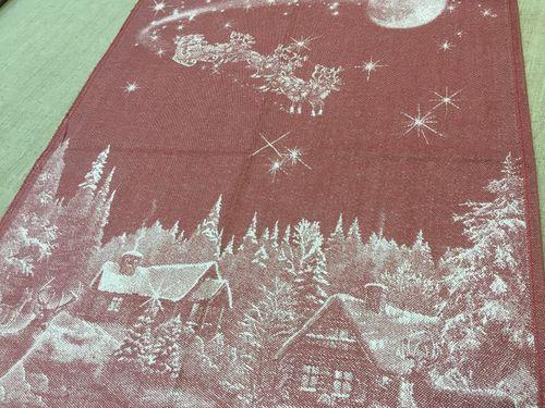 Новогоднее полотенце Рождество 50х70 см