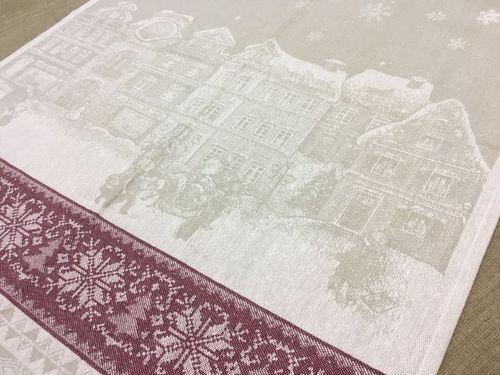 Новогоднее полотенце Winter Street 50х70 см