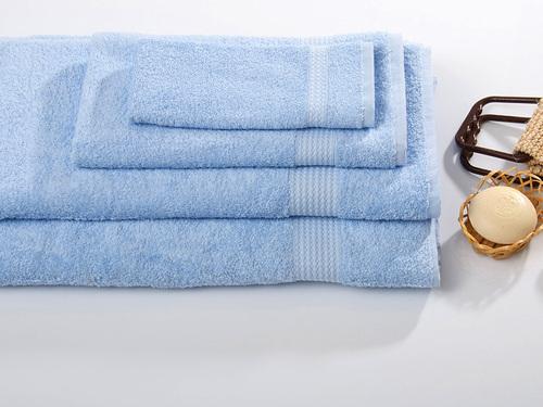 Махровое полотенце TOUCHSOFT, голубой
