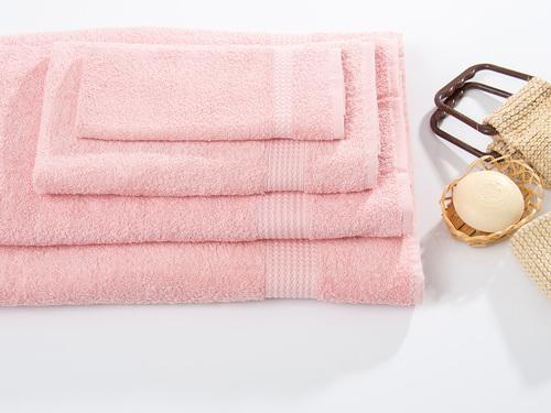Махровое полотенце TOUCHSOFT, розовый