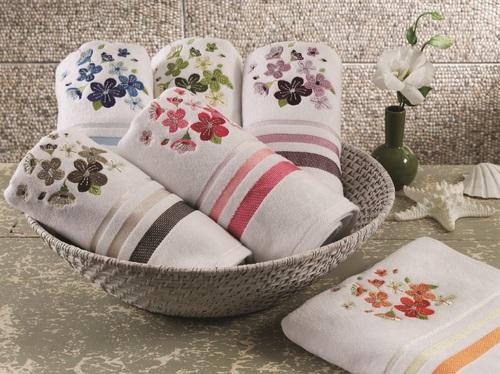 Подарочное полотенце ADELIA, BEIGE