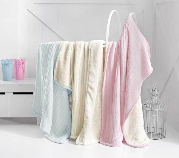 Детский плед-одеяло GRACE Pink