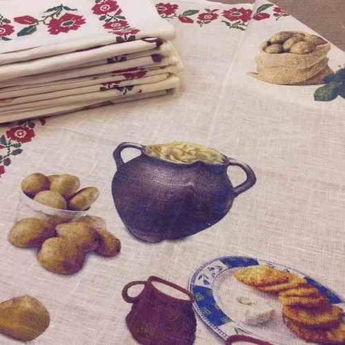 Белорусское полотенце Душа Бульбаша 50х70 см
