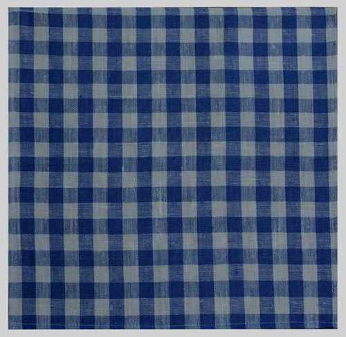 Салфетка в бело-синюю клеточку 45х45 см