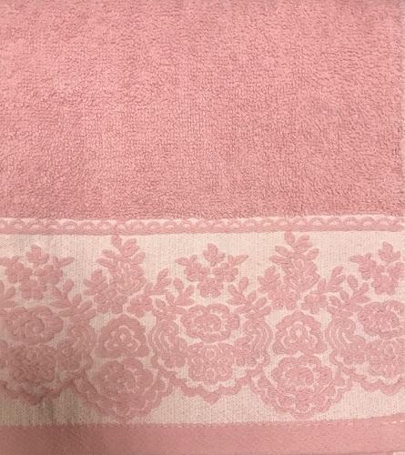 Махровое полотенце 50х90 GARDEN ROSE, роза