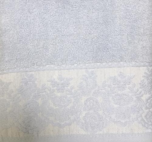 Махровое полотенце 50х90 GARDEN BLUE, голубой