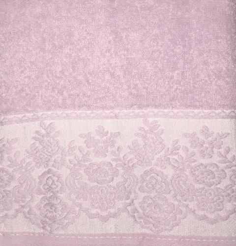 Махровое полотенце 50х90 GARDEN PURPLE, пурпурный