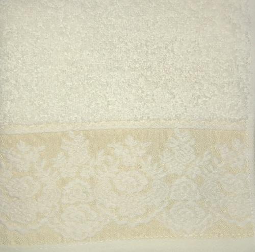 Махровое полотенце 50х90 GARDEN CREAM, кремовый