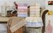 Махровое полотенце 50х90 GARDEN CREAM-PINK, кремовый/розовый
