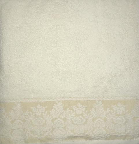 Махровое полотенце 70х140 GARDEN CREAM, кремовый