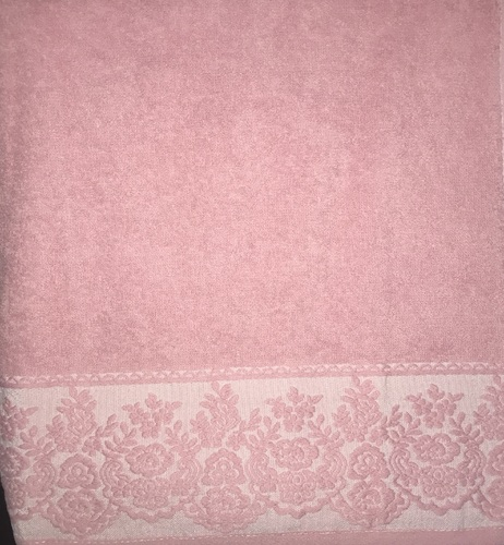 Махровое полотенце 70х140 GARDEN ROSE, роза