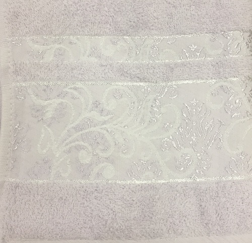 Махровое полотенце 50х90 SARMASIK LILAC, лиловый
