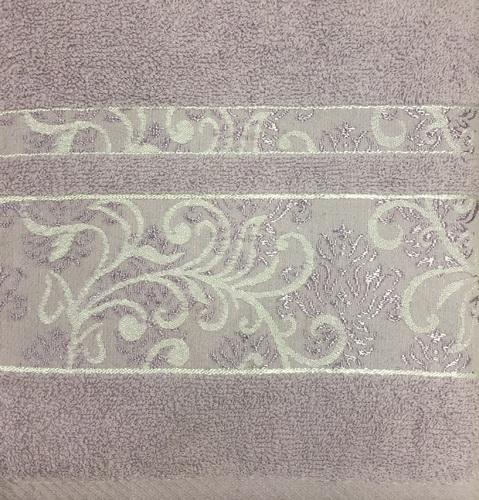 Махровое полотенце 70х140 SARMASIK PURPLE, пурпурный