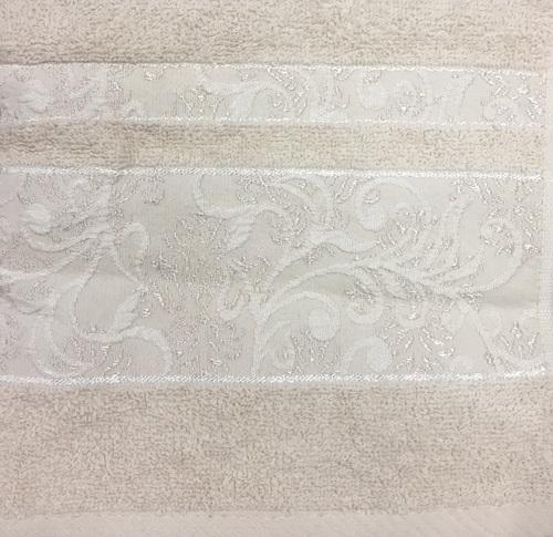 Махровое полотенце 70х140 SARMASIK BEIGE, бежевый