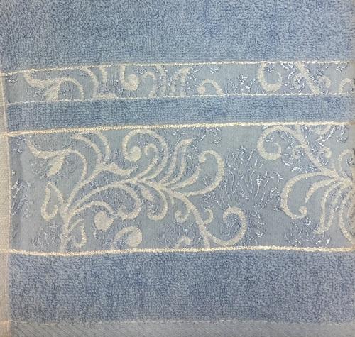 Махровое полотенце 70х140 SARMASIK ROYAL, синий