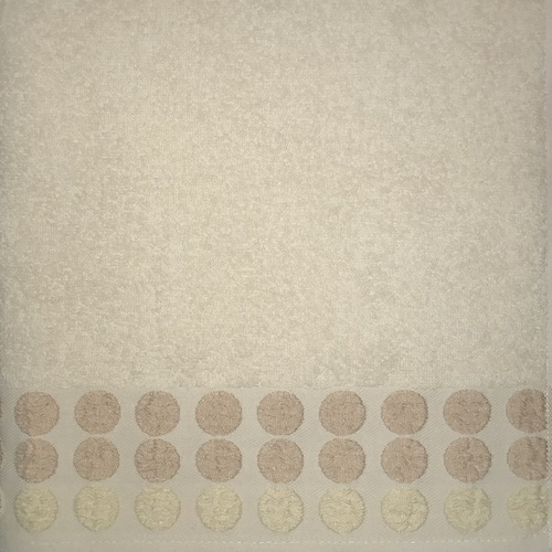 Махровое полотенце 50х90 POINT BEIGE, бежевый