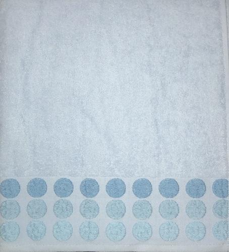Махровое полотенце 50х90 POINT BLUE, голубой