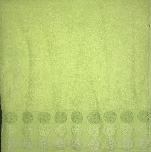Махровое полотенце 50х90 POINT GREEN, зеленый