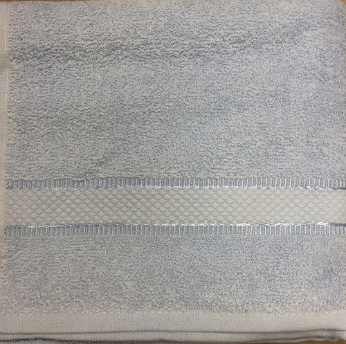 Махровое полотенце 50х85 BASIC BLUE, голубой