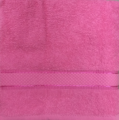 Махровое полотенце 70х140 BASIC FUCHSIA, фуксия