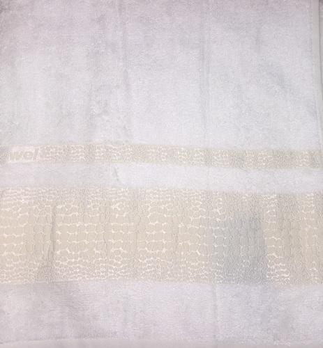 Набор полотенец 30х50 BAMBOO CROCODILE cream, кремовый