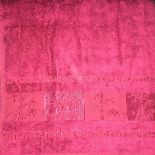 Набор полотенец 30х50 BAMBOO burgundy, бургунди