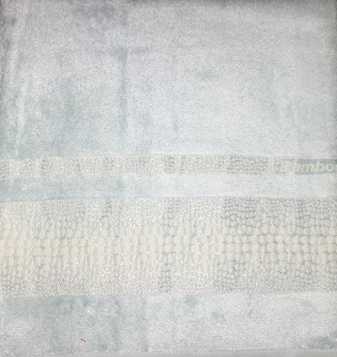Махровое полотенце 50х90 BAMBOO CROCODILE mint, мятный