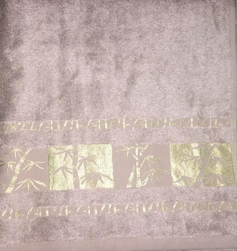 Махровое полотенце 50х90 BAMBOO GOLD mocha, мокко