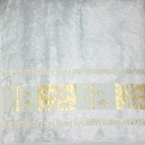 Махровое полотенце 50х90 BAMBOO GOLD mint, мятный