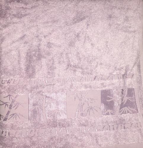 Махровое полотенце 50х90 BAMBOO lilac, лиловый