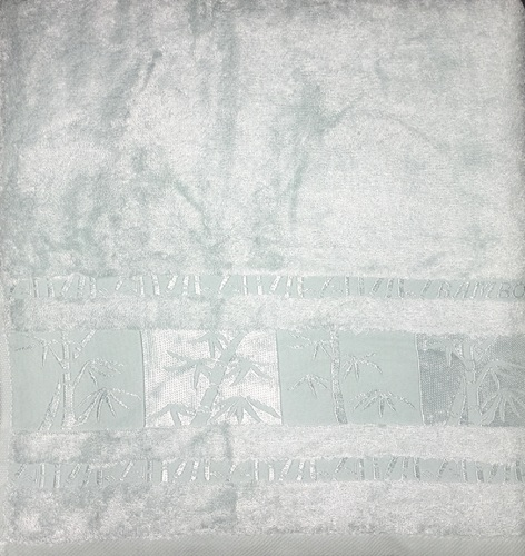 Махровое полотенце 50х90 BAMBOO mint, мятный