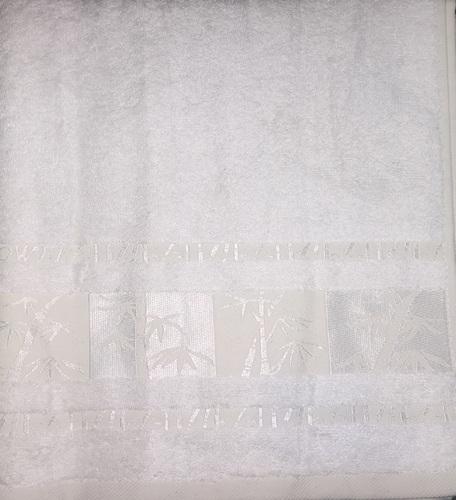 Махровое полотенце 50х90 BAMBOO cream, кремовый