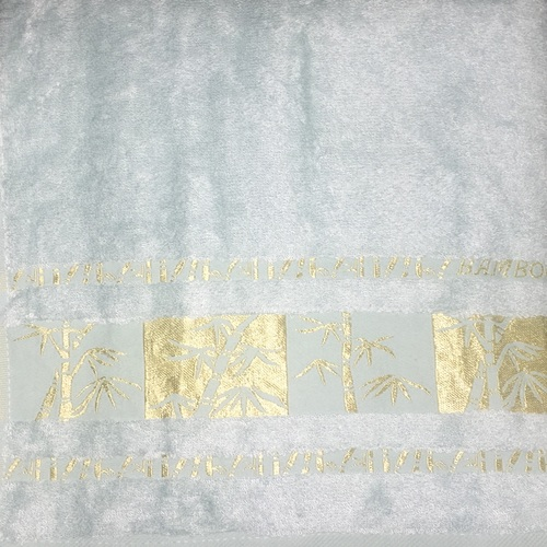 Махровое полотенце 70х140 BAMBOO GOLD mint, мятный