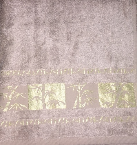 Махровое полотенце 70х140 BAMBOO GOLD mocha, мокко