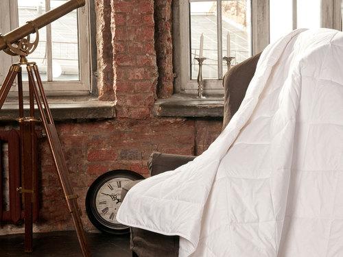 Всесезонное одеяло 200×220 см Cotton Wash Grass