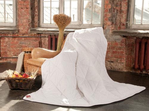 Всесезонное одеяло 200×220 см Linen Wash Grass