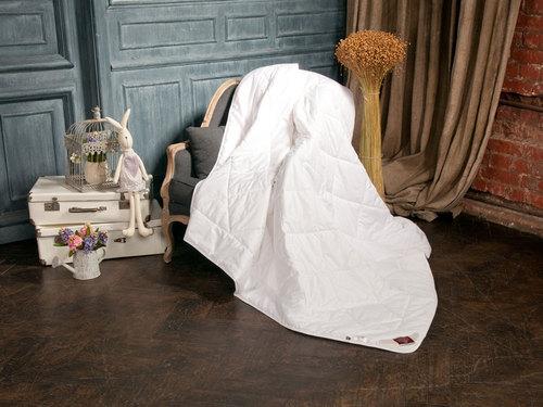 Легкое одеяло 200×220 см Linen Wash Grass