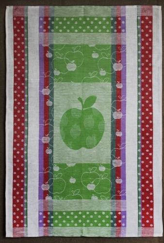 Кухонное полотенце с жаккардовым рисунком 50х70 см