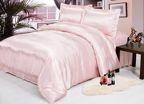 Постельное белье Silk Pink