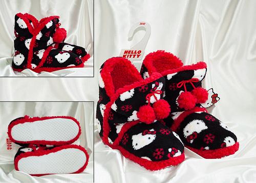 Сапожки домашние Hello Kitty 7026-03