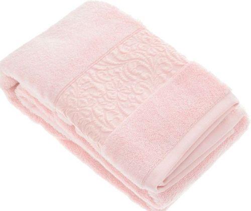 Полотенце бамбуковое VALENCIA Sugar pink 90x150 см