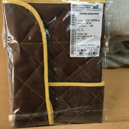 Кухонная хлебница Чоко 34х34 см