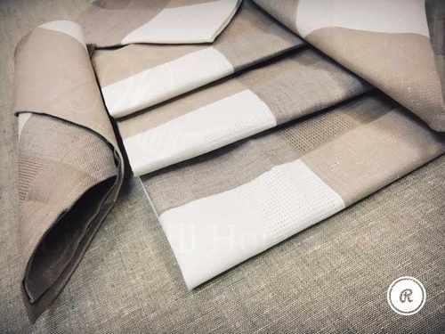 Набор салфеток на 6 персон Beige Grey 50х50 см